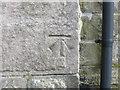 NS8938 : Ordnance Survey Cut Mark by Peter Wood