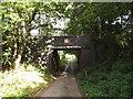 TG0723 : Brick Kiln Lane & Marriott's Way Bridge by Adrian Cable