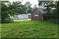 TQ0265 : Former chapel, Botley Park by Alan Hunt