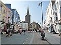 SN1300 : St. Julian's Street, Tenby by Derek Voller