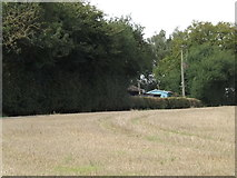 TG0723 : Rusca Farmhouse, Kerdiston by Adrian Cable