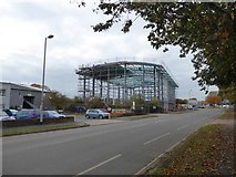 SX9290 : Construction site, Hennock Road East, Exeter by David Smith