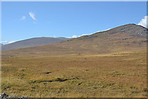 NH1675 : Moorland north of Loch a' Bhraoin by Nigel Brown