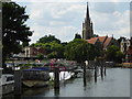 SU8586 : Weir on the Thames at Marlow by Chris Allen