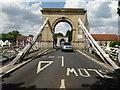 SU8586 : Suspension bridge at Marlow by Chris Allen