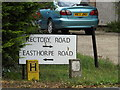 TL9221 : Roadsign on Rectory Road by Adrian Cable