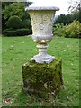 ST7893 : Urn in the grounds of Newark Park by Philip Halling