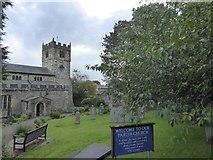 SD6592 : Sedbergh parish church by David Smith