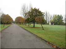 SU0893 : Approaching the Cricklade Hotel and Country Club by David Purchase