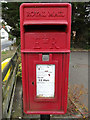 TL9419 : Village Hall Postbox by Adrian Cable