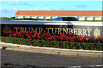NS2006 : Flower Bed at Trump Turnberry by Billy McCrorie