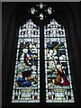 TL6370 : SS Peter & Mary Magdalene, Fordham: stained glass window (3) by Basher Eyre