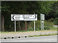 TL9320 : Roadsigns on the B1122 Maldon Road by Adrian Cable