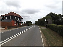 TL9218 : B1022 Maldon Road, Smythe's Green by Adrian Cable