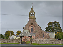 NY6813 : St Peter's church, Great Asby by Nigel Brown