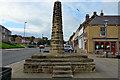 NZ2581 : Market Cross, Bedlington by Steve Ellwood