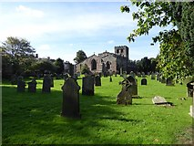 NY6820 : St Lawrence's church, Appleby, from the east by David Smith