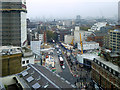 TQ2981 : Crossrail Works, Tottenham Court Road Station by David Dixon