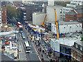 TQ2981 : Crossrail Construction at Charing Cross Road by David Dixon