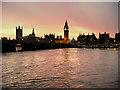 TQ3079 : Westminster Sunset by David Dixon