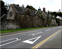 SH7400 : Grade II listed former coach house and stables, Machynlleth  by Jaggery