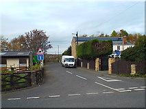 NZ3354 : Lane at Cox Green, near Washington by Malc McDonald