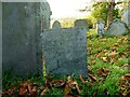 SK8331 : Belvoir Angel, Harston churchyard by Alan Murray-Rust
