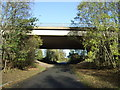 SJ7285 : M56 bridge over Reddy Lane by JThomas