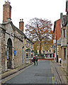 TF0307 : Stamford: the top of Maiden Lane by John Sutton