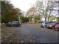 SJ8846 : Hanley Park: car park by Jonathan Hutchins