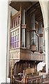 TF0306 : Organ, St Martin's church, Stamford by Julian P Guffogg
