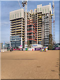 TQ3884 : New Development at Stratford by David Dixon