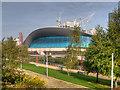 TQ3884 : Queen Elizabeth Olympic Park, The London Aquatics Centre by David Dixon