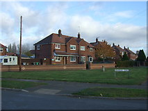 SJ6855 : Houses on Bramhall Road by JThomas