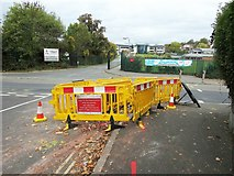SX9065 : Roadworks, Parkhurst Road by Derek Harper