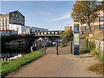 TQ3784 : River Lee Navigation, White Post Lane by David Dixon
