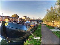 TQ3784 : Lea Valley Walk, Hackney Wick by David Dixon