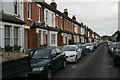 TQ1571 : York Road, Fulwell (north side) by David Kemp