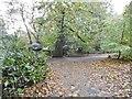 TG1017 : Weston Longville, dinosaur trail a by Mike Faherty