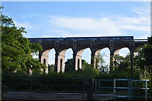 TQ3227 : Train crossing the Ouse Valley Viaduct by N Chadwick