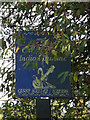 TL1614 : The Cherry Tree Indian Restaurant sign by Adrian Cable