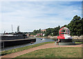 SX9291 : Buoy by the canal by Des Blenkinsopp
