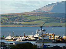NS3075 : Serco Denholm vessels at the Great Harbour by Thomas Nugent