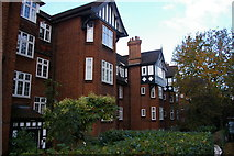TQ2586 : Moreland Court, Finchley Road by Christopher Hilton