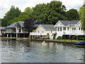SU7682 : Riverside houses - Henley-on-Thames by Chris Allen