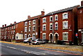 SO8317 : Three-storey houses, Park End Road, Gloucester by Jaggery