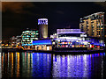 SJ8097 : The Lowry Centre, Salford Quays by David Dixon