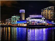 SJ8097 : The Lowry Centre, Salford Quays by David Dixon