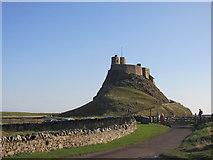 NU1341 : Lindisfarne Castle by steven ruffles