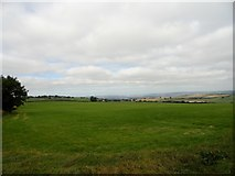 NZ0859 : View west over the fields by Robert Graham